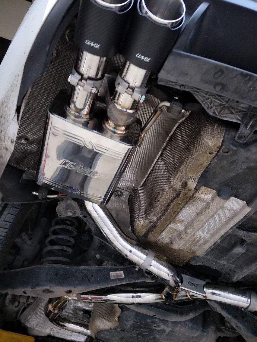 大众CC 2.0 CENDE森德中尾段阀门排气
