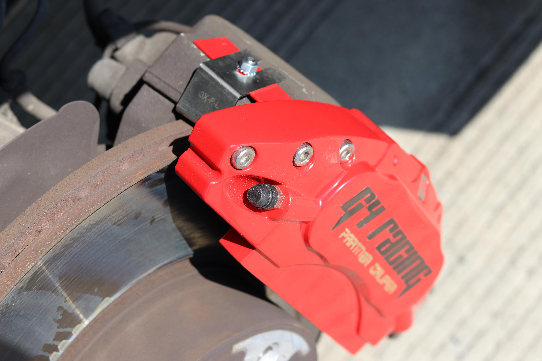 宝马3系G4 Racing铝合金卡钳罩案例
