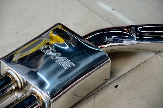 宝马5系 G38 CENDE森德中尾段高性能排气[强][强]