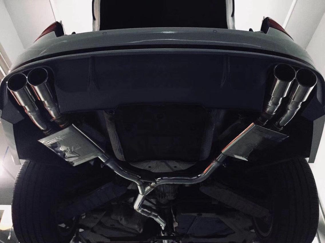 奥迪A4L B9 CENDE森德中尾段智能电子阀门排气[色]
