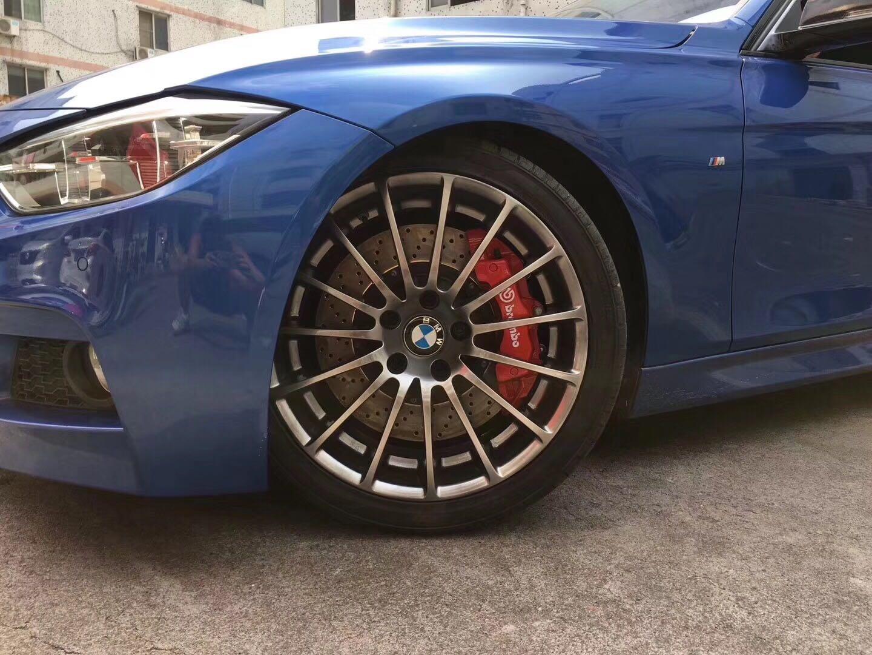 宝马3系,BMW F35 328Li Brmebo 前6后4刹车套装