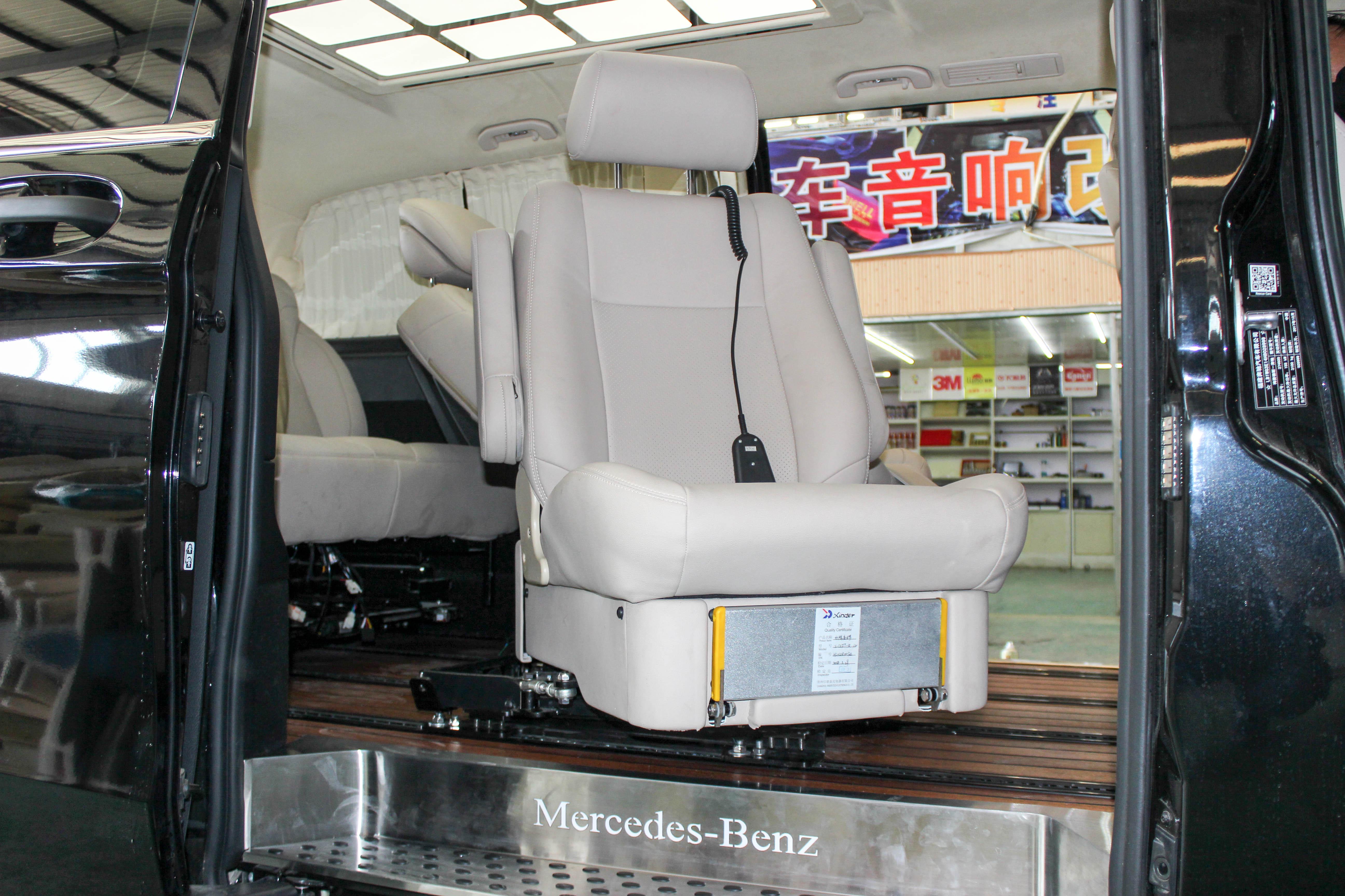 航空座椅可升降旋转,奔驰威霆内饰改装