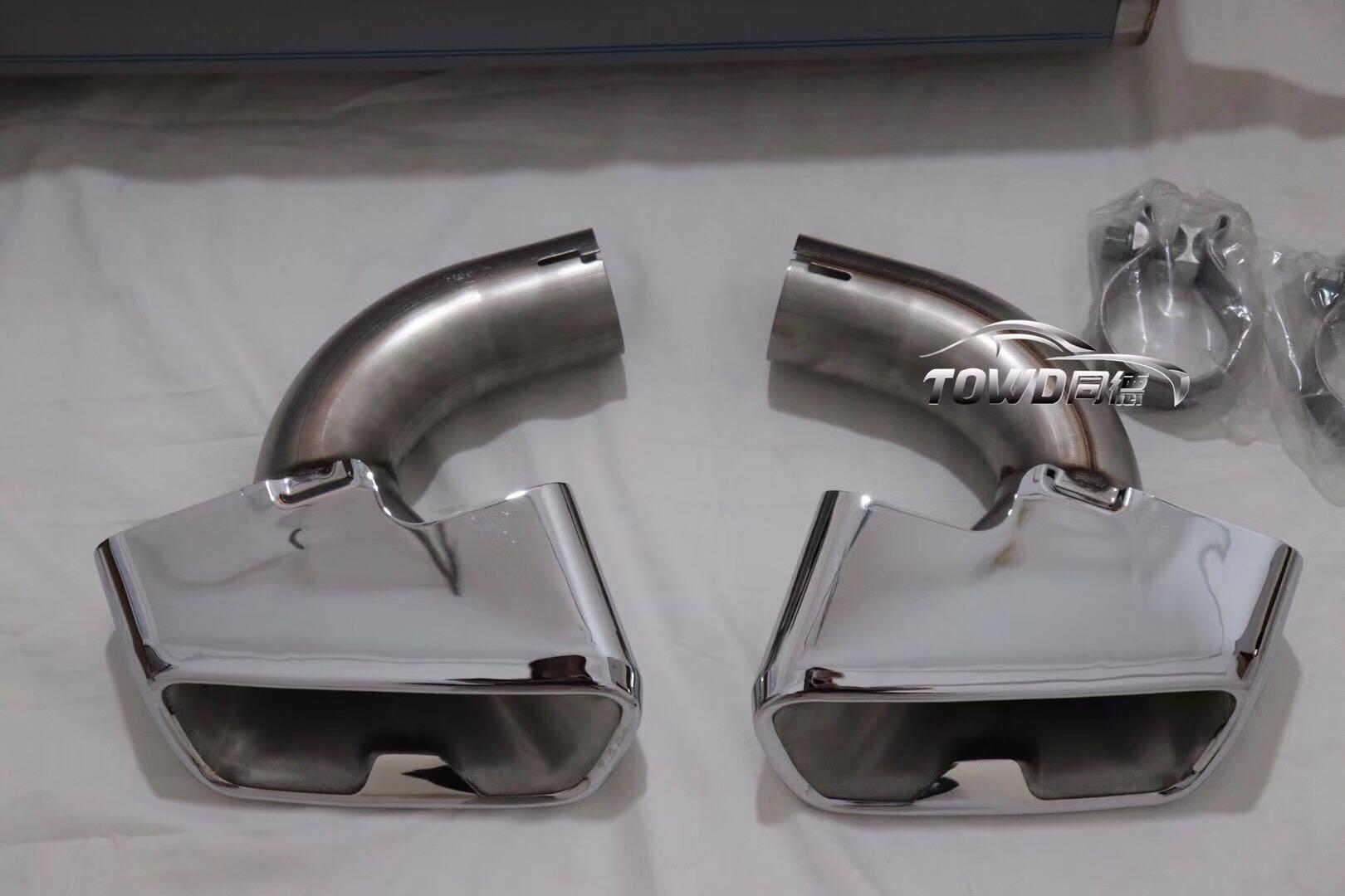 宝马G38原厂MP排气