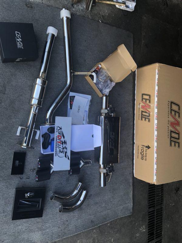 长城VV5升级CENDE森德中尾段智能电子阀门排气