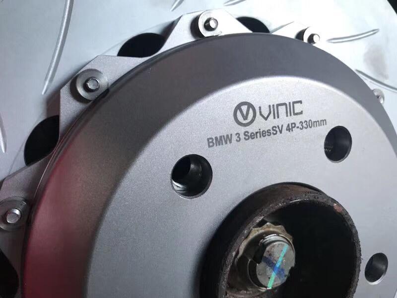 宝马3系改装VINIC刹车前六后四