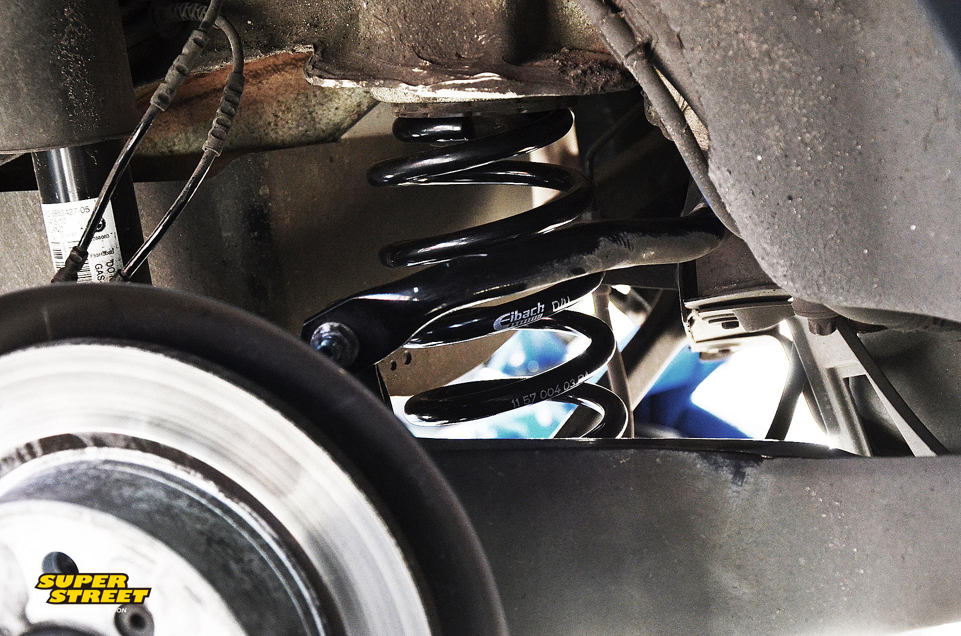 MINI Cooper F55改装Eibach短弹簧