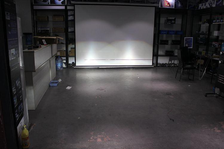 本田飞度车灯改装led总成改装海拉5透镜