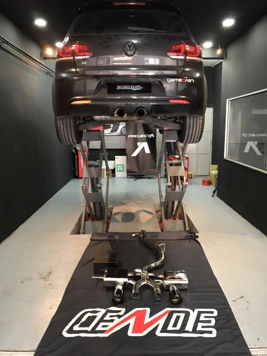 Volkswagen Golf MK6 R20 CENDE森德全段阀门排气。