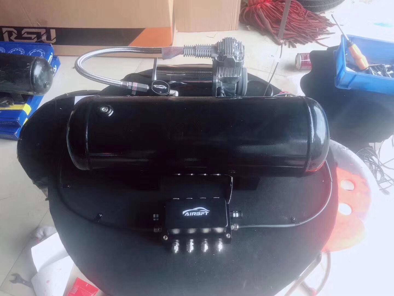 #迈腾R32    升级AirBFT气动避震