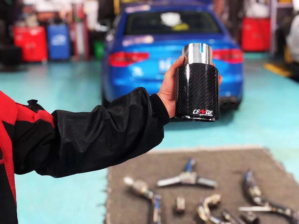 开弓 Audi A4 再次升级! 来自CENDE森德全段智能电子阀门排气