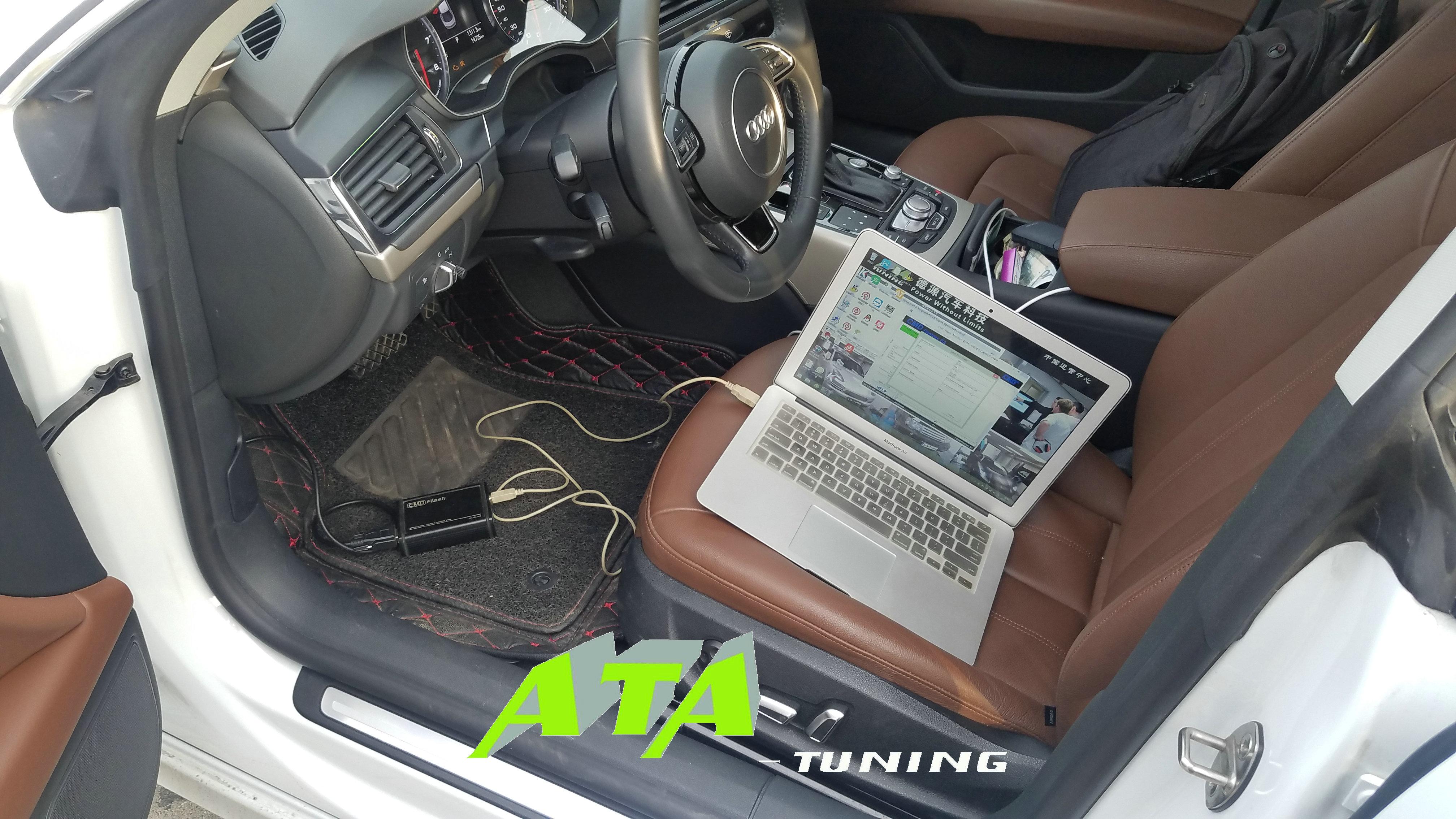 AUDI-A7 1.8T刷ECU,升级英国ATA-Tuning程序