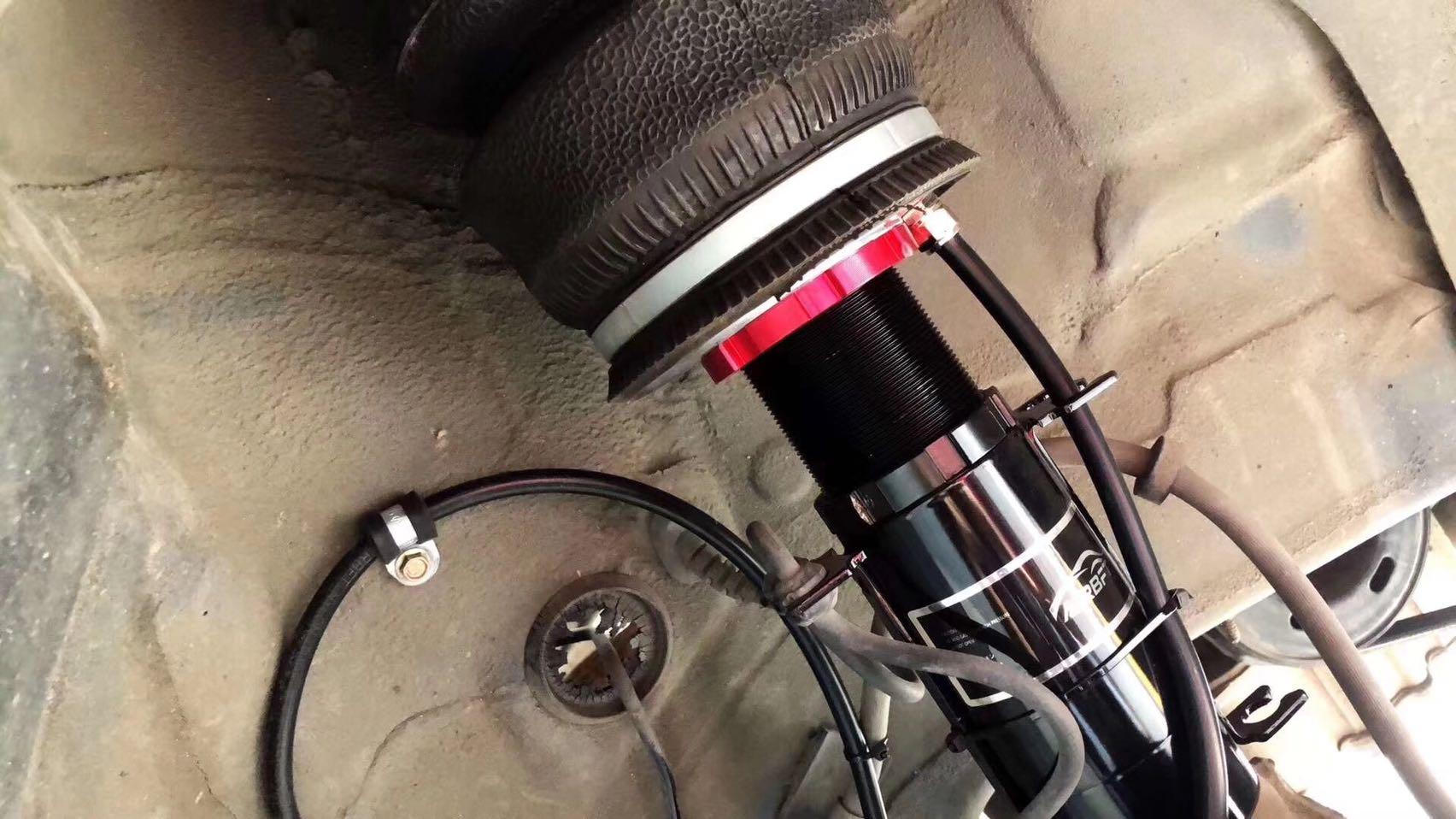 #VW MK4 # Air BFT全套 # 后备箱美化