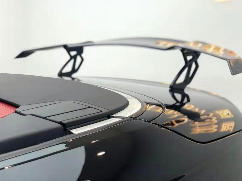 宝马435i改装案例:手工宽体全车珍珠黑
