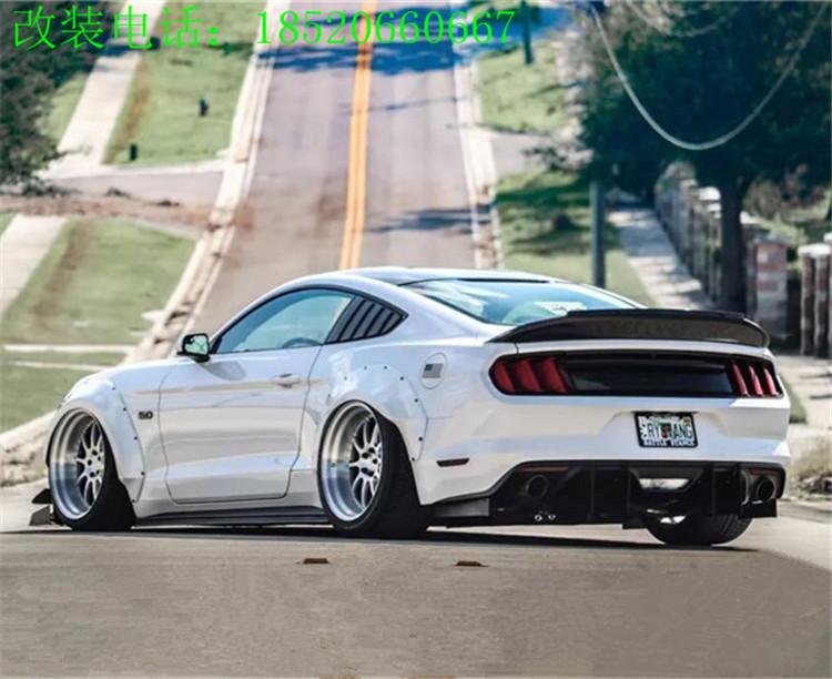 福特野马改装Trufiber尾箱盖TF尾翼Mustang