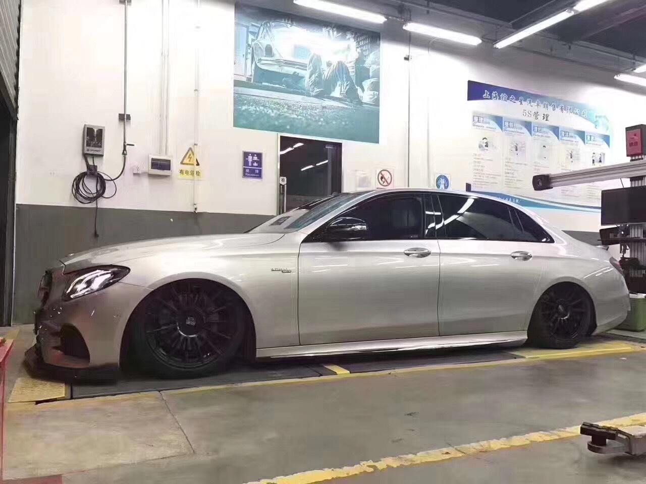 奔驰E级 W213 安装AIRBFT气动避震!