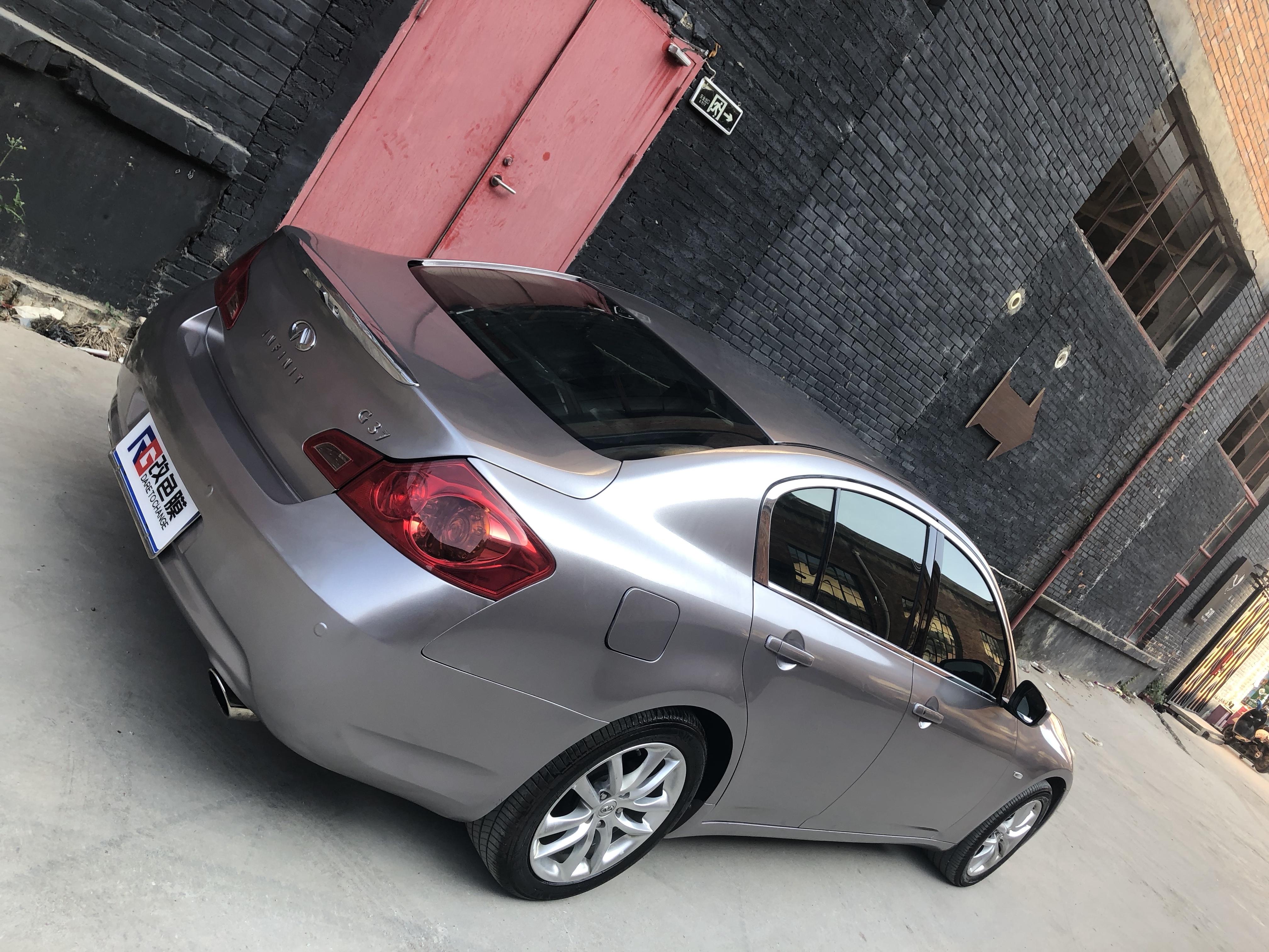 英菲尼迪G37车身改色金属铝案例