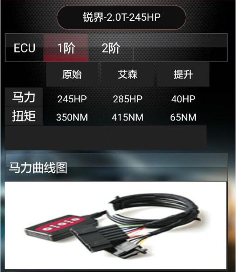 福特锐界2.0T刷ecu升级提动力改善换挡