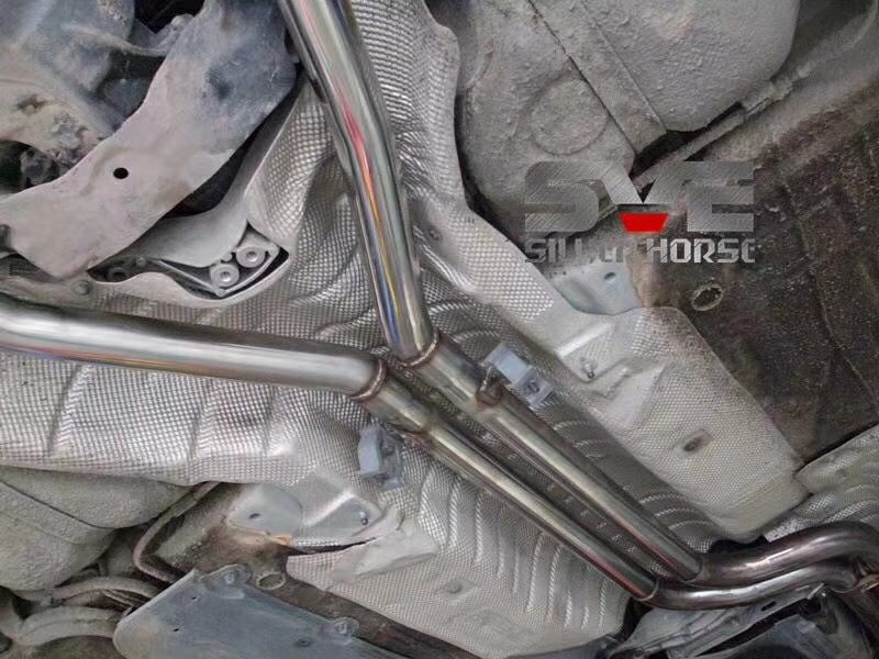 宝马Z4改装SVE品牌中尾段阀门四出排气