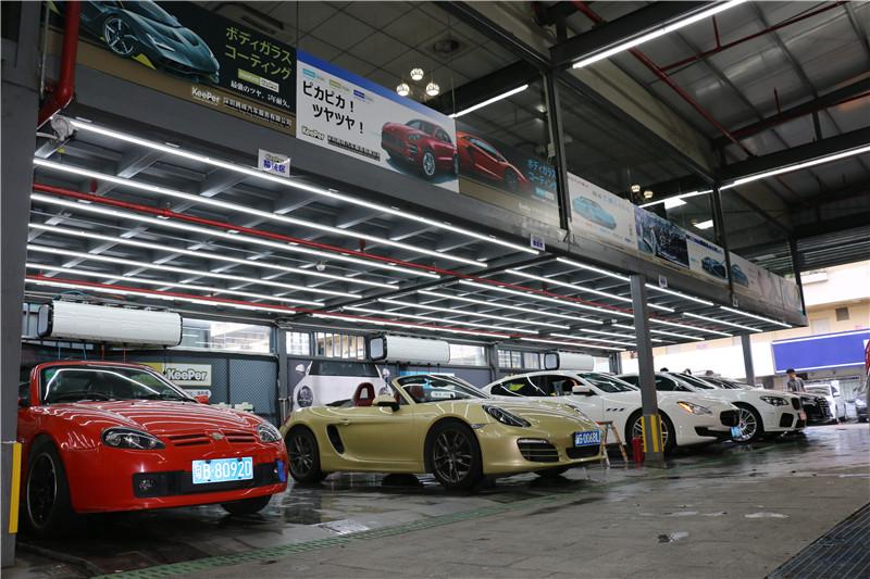 百万级越野硬汉—深圳奔驰G500如期保养