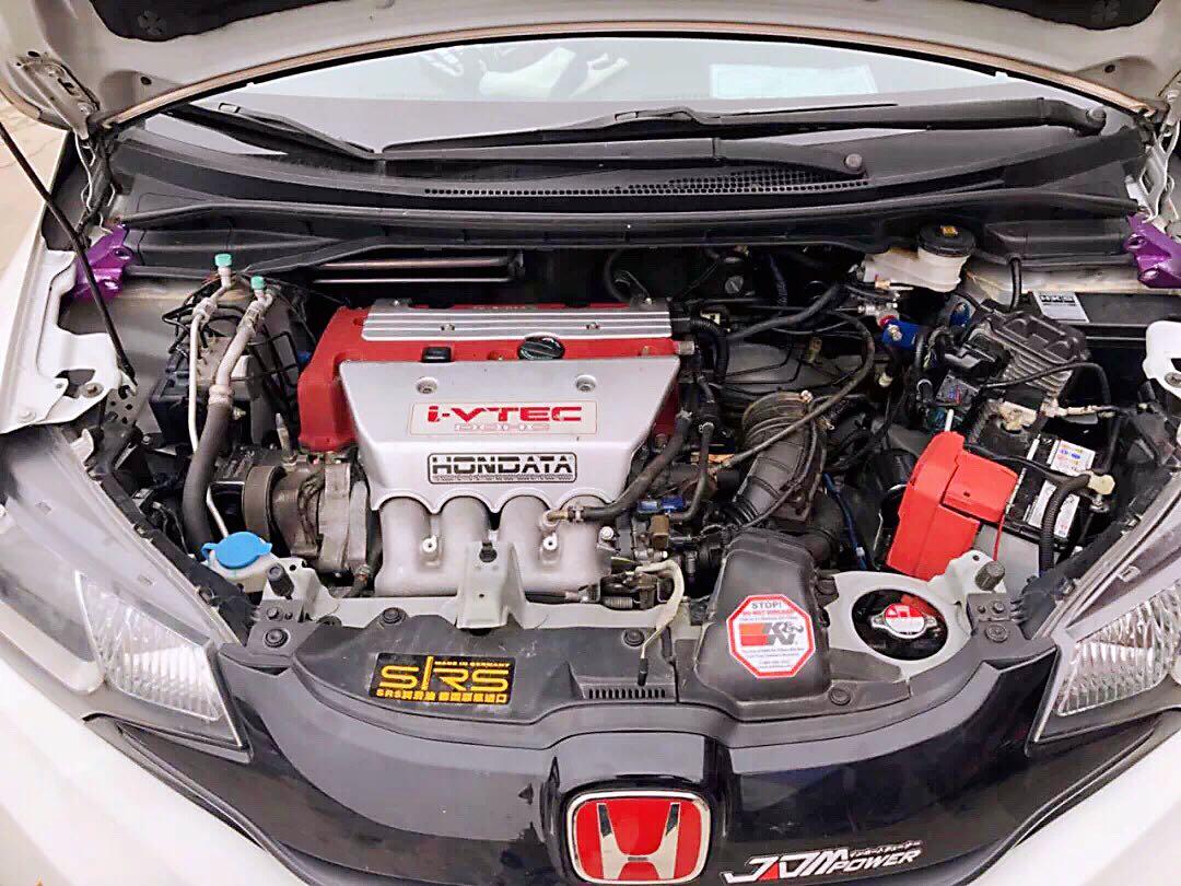 西安擎速改装,本田飞度(GK5)移植本田红头K20A发动机
