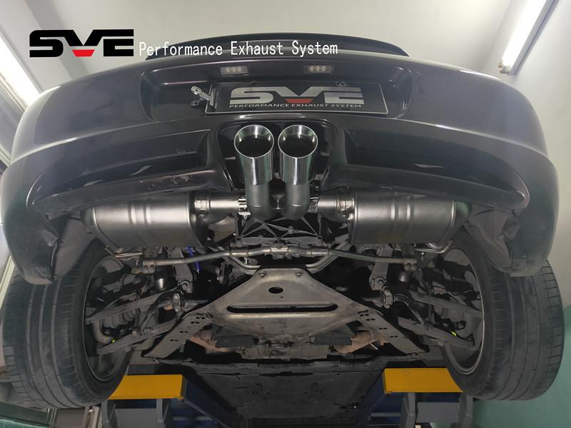 保时捷卡曼改2.7排量装SVE尾段阀门排气