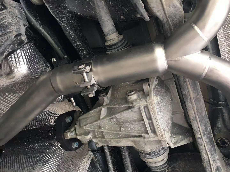 奔驰C200改装SVE中尾段阀门排气