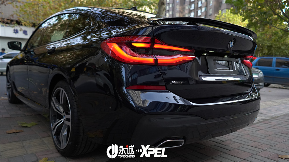 石家庄宝马6系GT贴XPEL隐形车衣