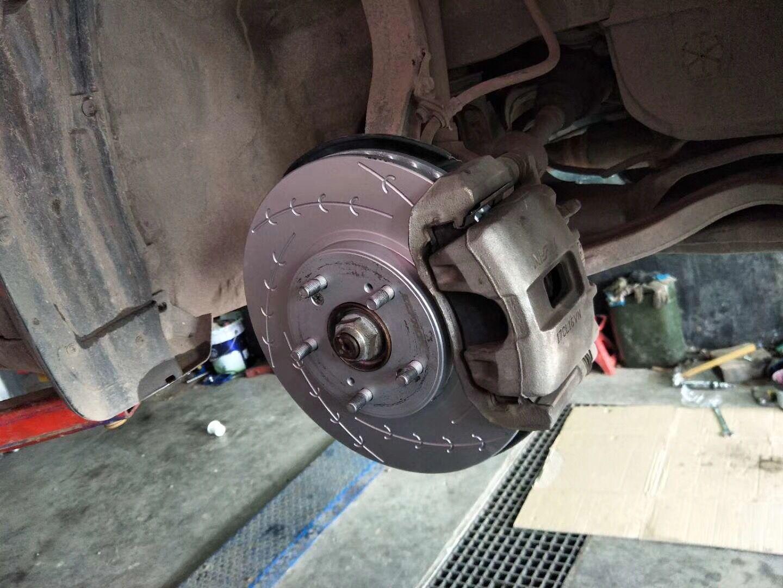 八代雅阁升级ECFRONT个性高碳刹车盘