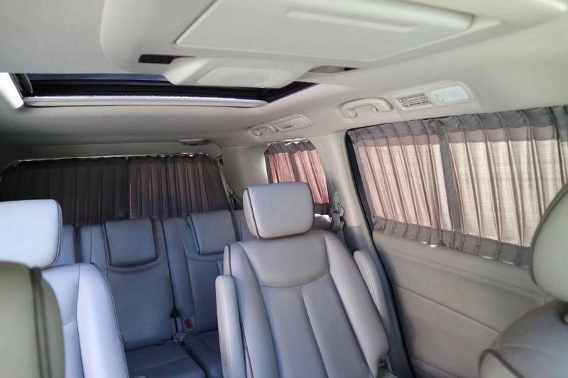 MPV车定制窗帘适用塞纳贵士V级埃尔法