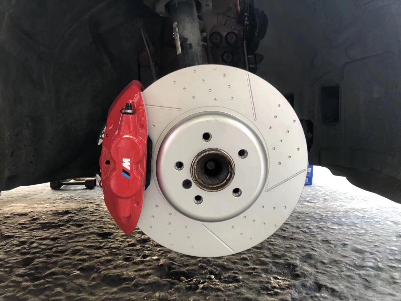 宝马3系刹车改装Mp前四后二刹车卡钳套装宝马原厂Mp刹车