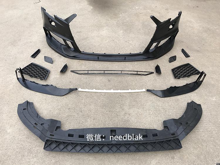 17-18款奥迪A3改装升级RS3前杠中网可选