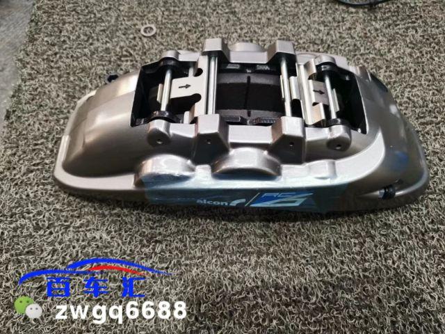 车型:宝马640`硬货来了Alcon Rc6刹车大六 后轮加大盘