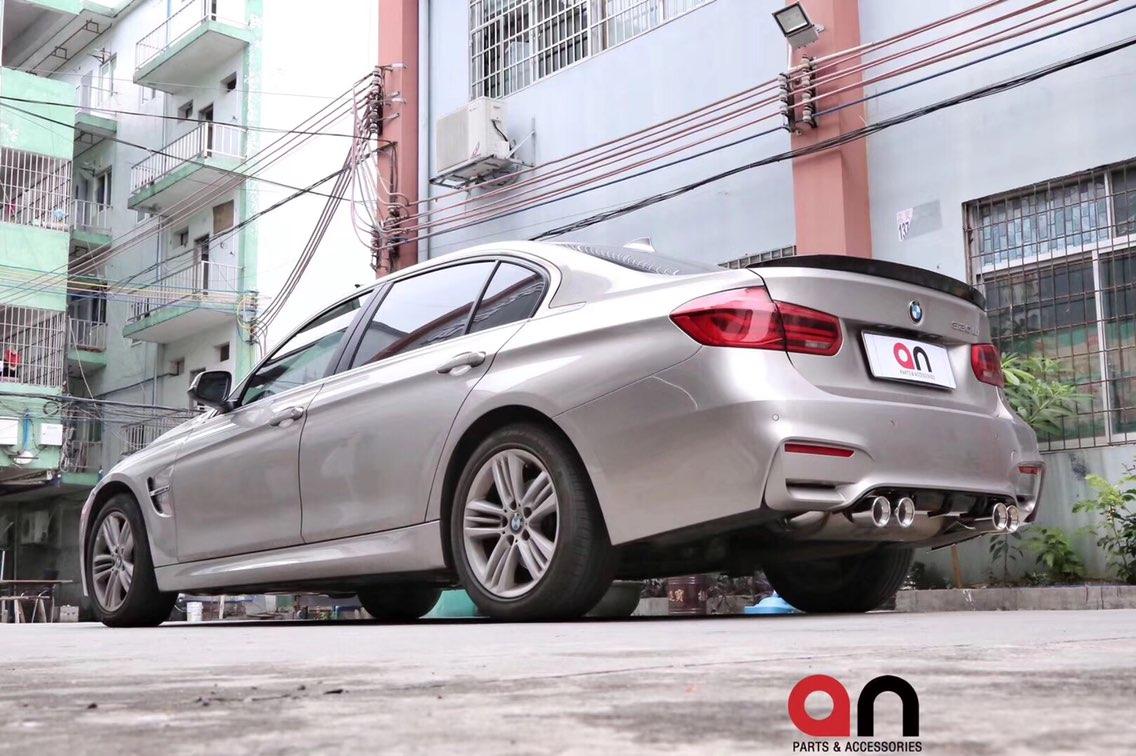宝马3系改装M3款包围叶子板套件。台湾an品牌,质量保证,vx:: w1298489895