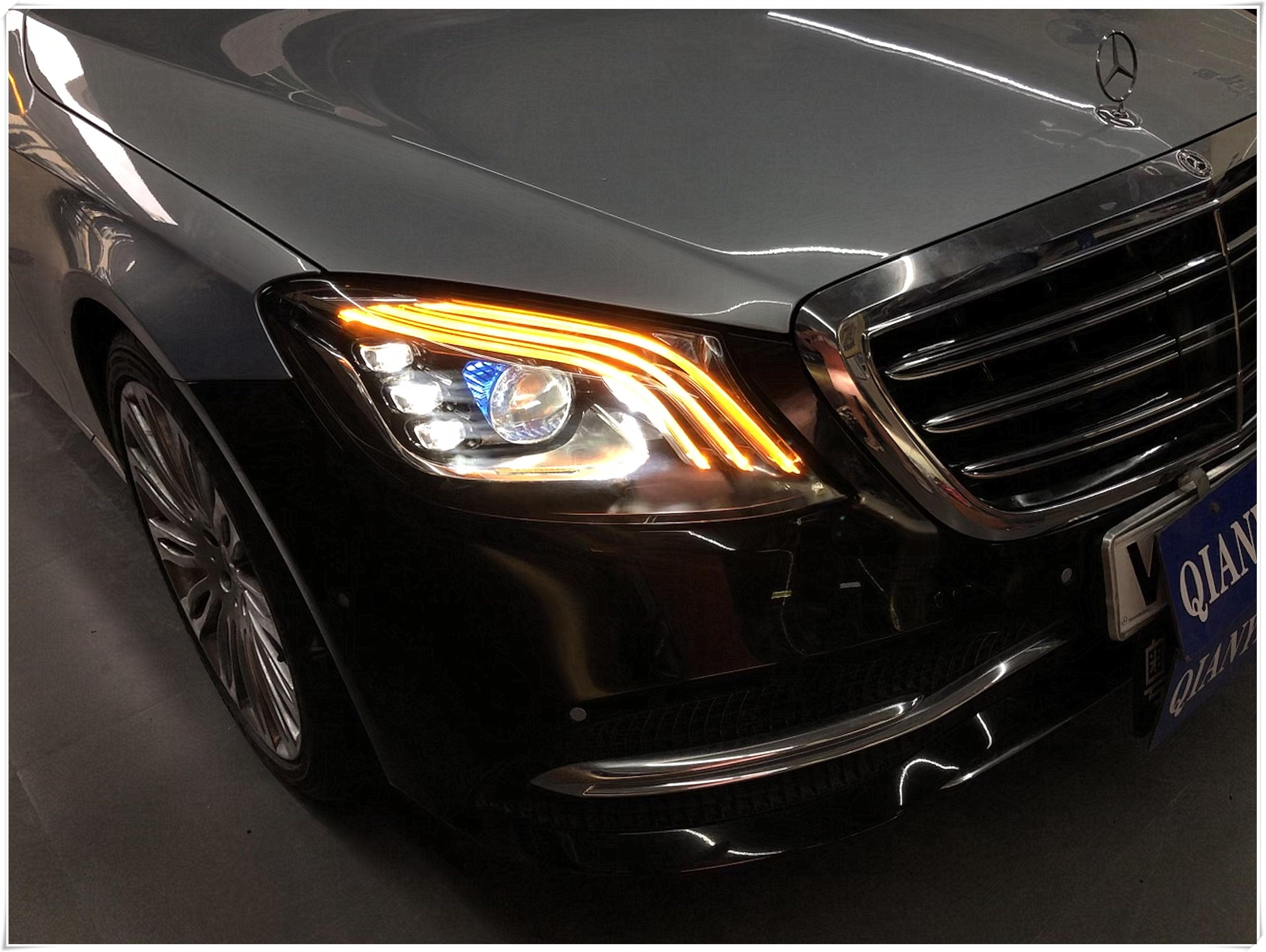 Mercedes BENZ S-Class 旧款改装新款