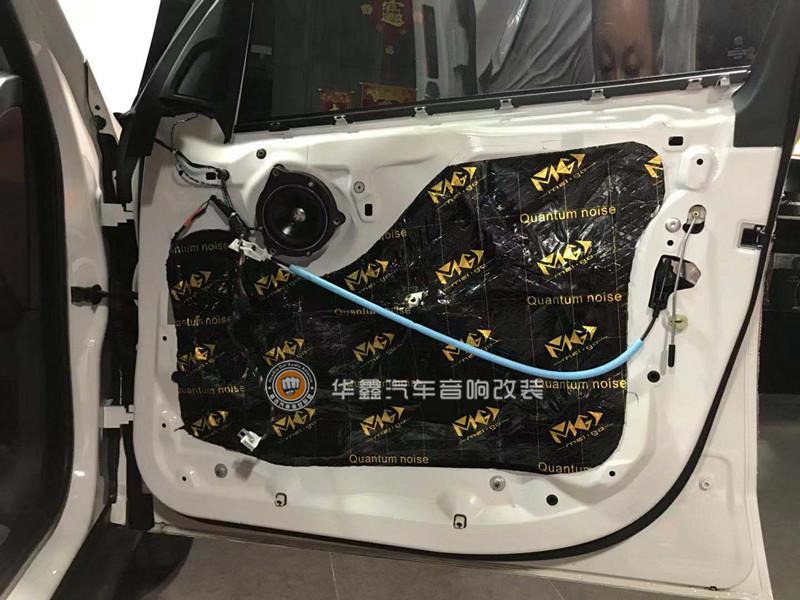 宝马X5音响改装-升级丹麦B2宝马专车专用