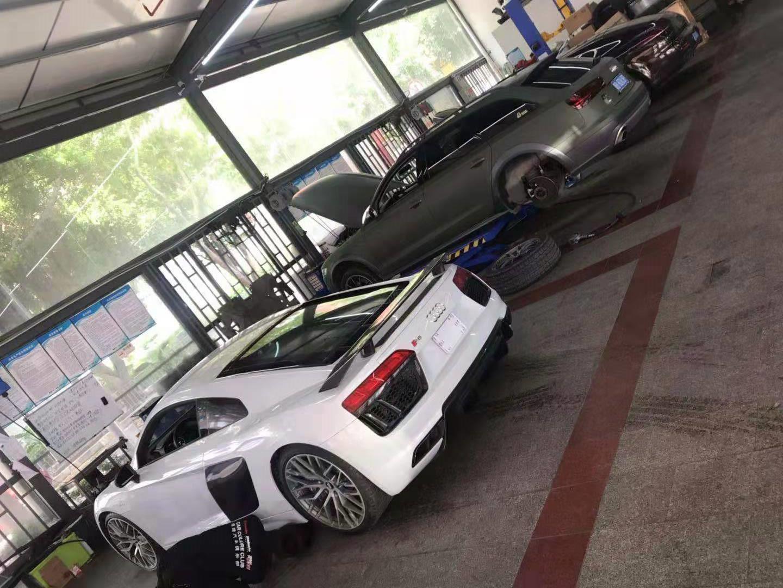 奥迪R8改装维修保养-腾峰汽车俱乐部
