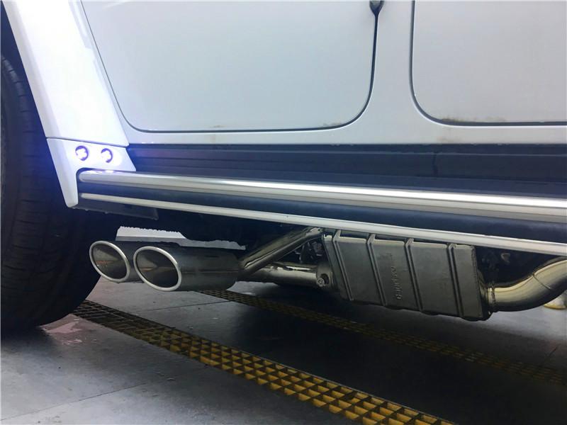 匠心进化-新款奔驰G63 AMG改装巴博斯套件