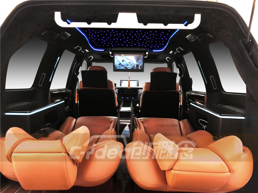 在深圳,雷克萨斯LX570改装星空顶