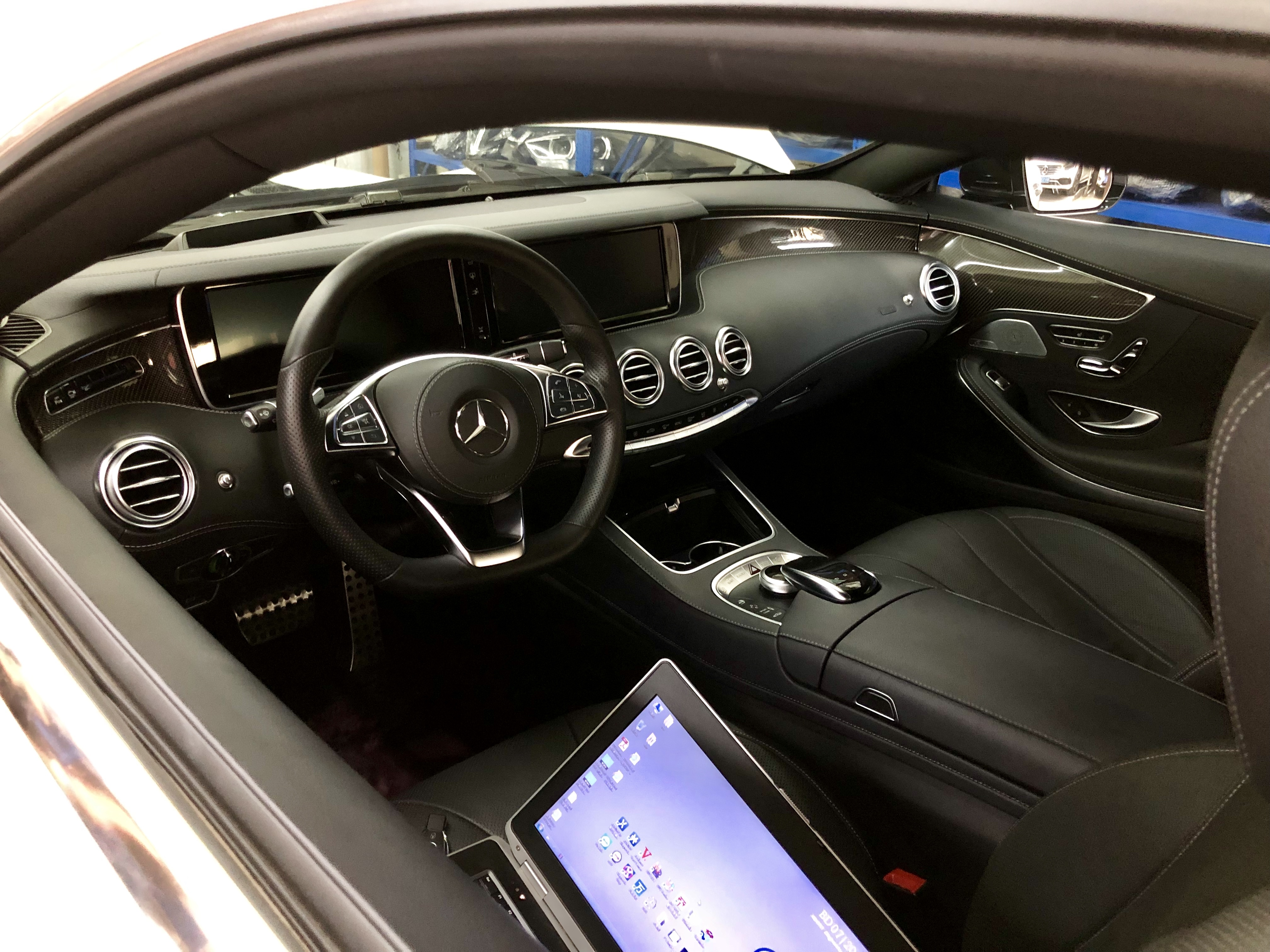 梅赛德斯奔驰S级改装大灯 C217 W222