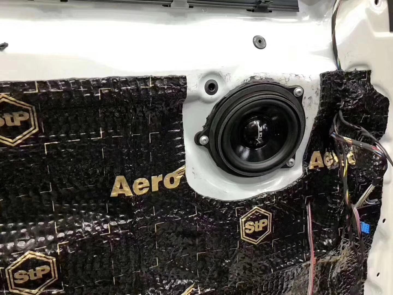 宝马5系音响改装