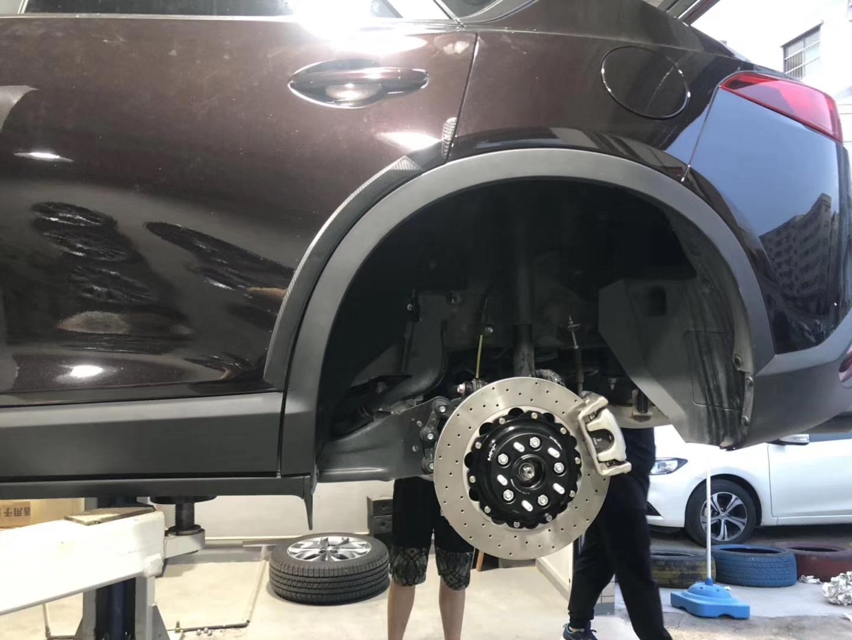 马自达CX-4制动升级刹车改装