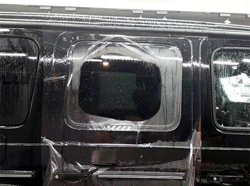 奔驰大G漆面透明车衣保护膜