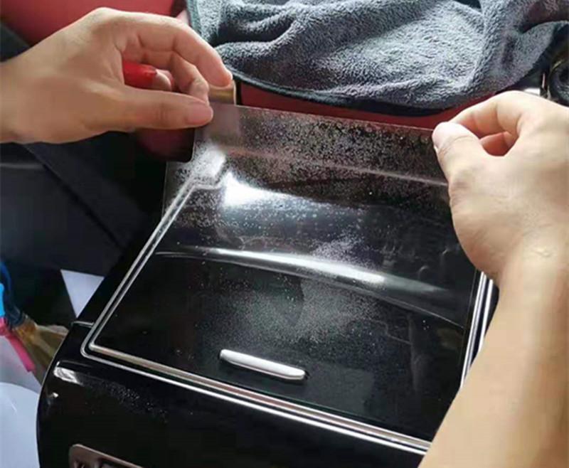 路虎揽胜专车专用内饰透明保护膜