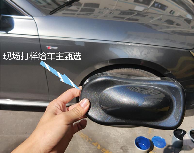论轮毂改装的重要性:奥迪A4L轮毂改色