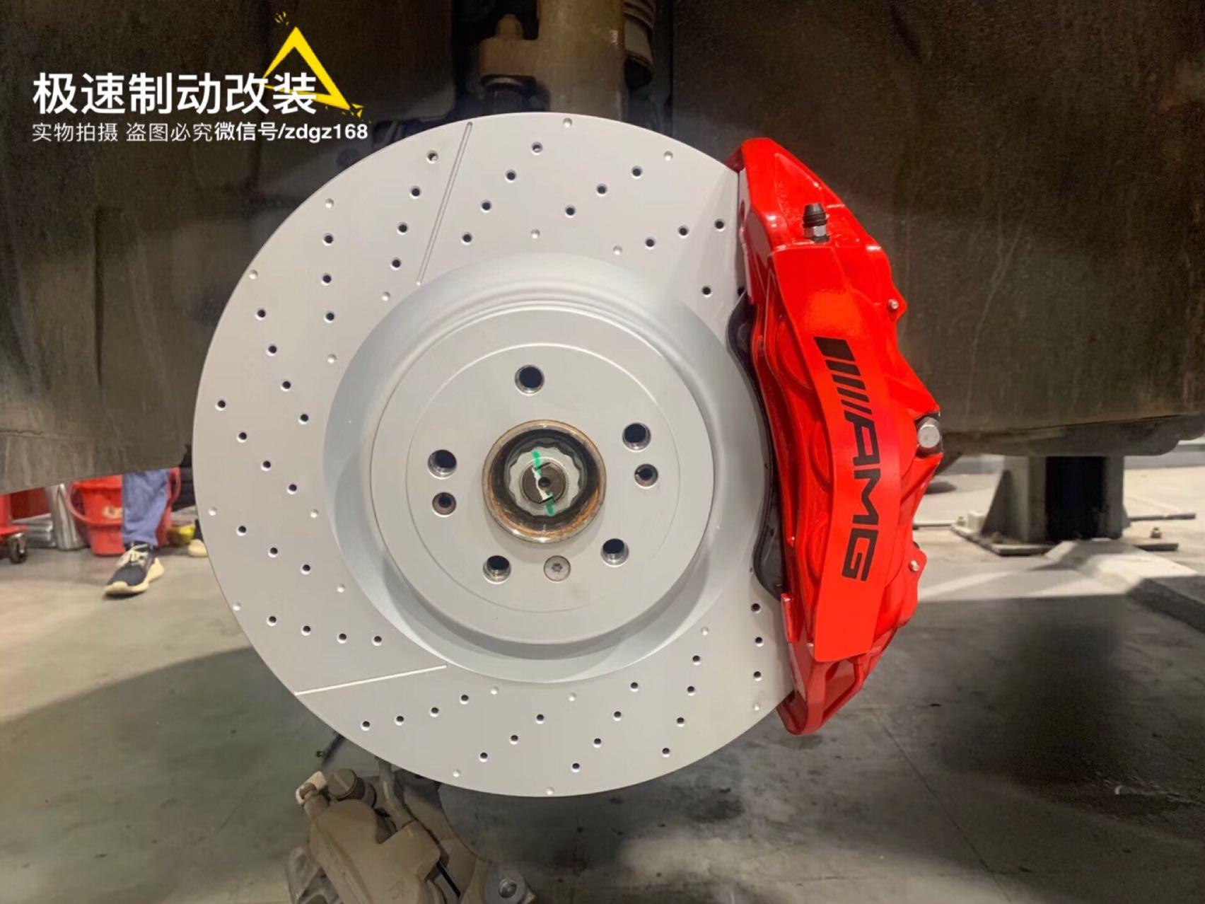 奔驰GLE43、20寸轮毂刹车升级??AMG 6pot套装,效果就是棒?完美解决刹车疲软。