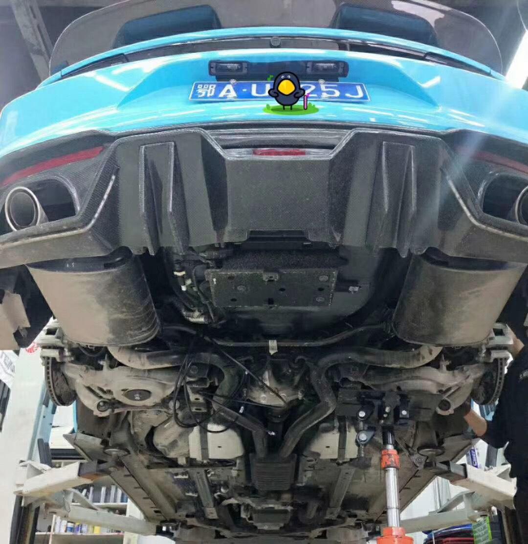 新款野马2.3T  AIRBFT气动避震施工 三段记忆版本 机械元化