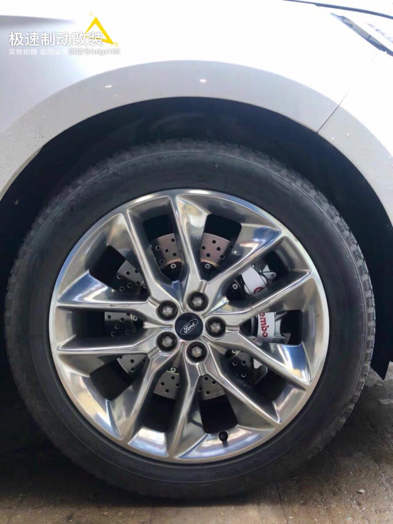 福特锐界刹车升级前轮Brembo v6刹车套装,完美上车,轮毂饱满好看