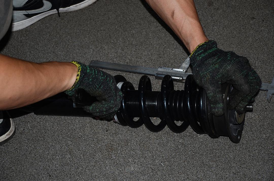 奥迪A3改装TEI Racing 街道版绞牙避震