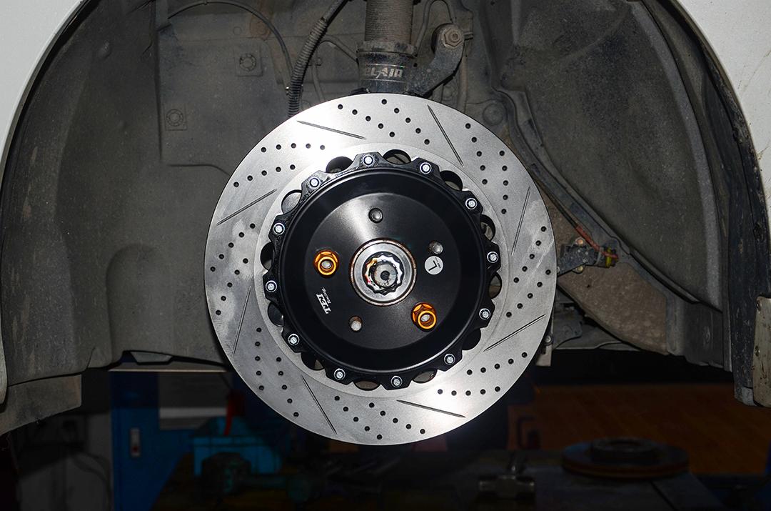 日产蓝鸟改装TEI Racing P40NS刹车套件