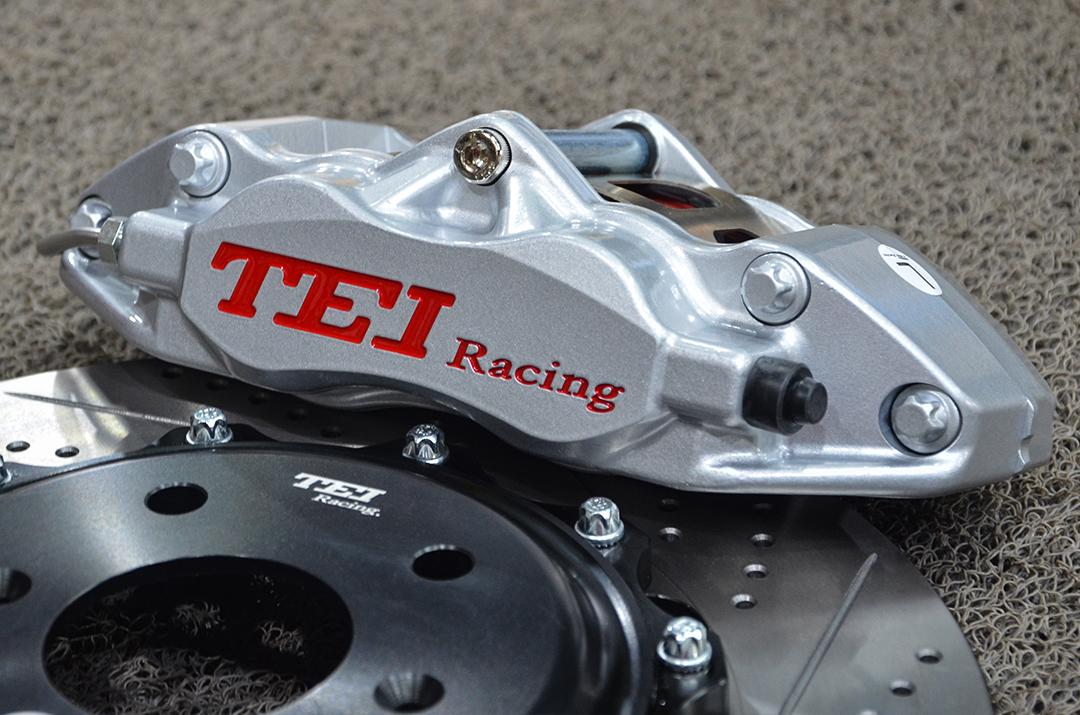 本田十代思域改装TEI Racing P40S刹车套件